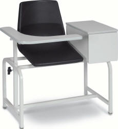 Blood Drawing Chair with Cabinet - 2570