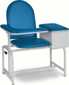 Padded Blood Drawing Chair with Cabinet - 2572