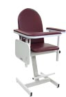 Designer Blood Drawing Chair with Vinyl Seat - 2578
