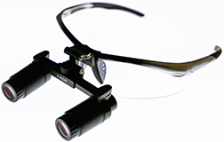 Loupe On Wire Frame With Glasses