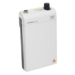 HEINE mPack LL with Li-ion rechargeable battery and transformer