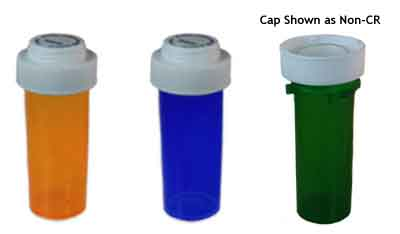 Vials with Reversible Dual Purpose Caps
