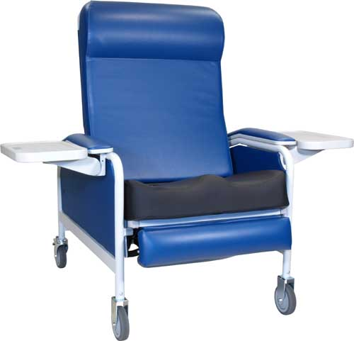 529S XL Convalescent Recliner w/ Saddle Seat