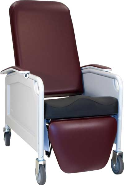 586S LifeCare Recliner/No Tray w/ Saddle Seat