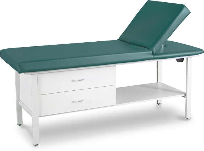Adjustable Back Treatment Table with Drawers - 8570-D